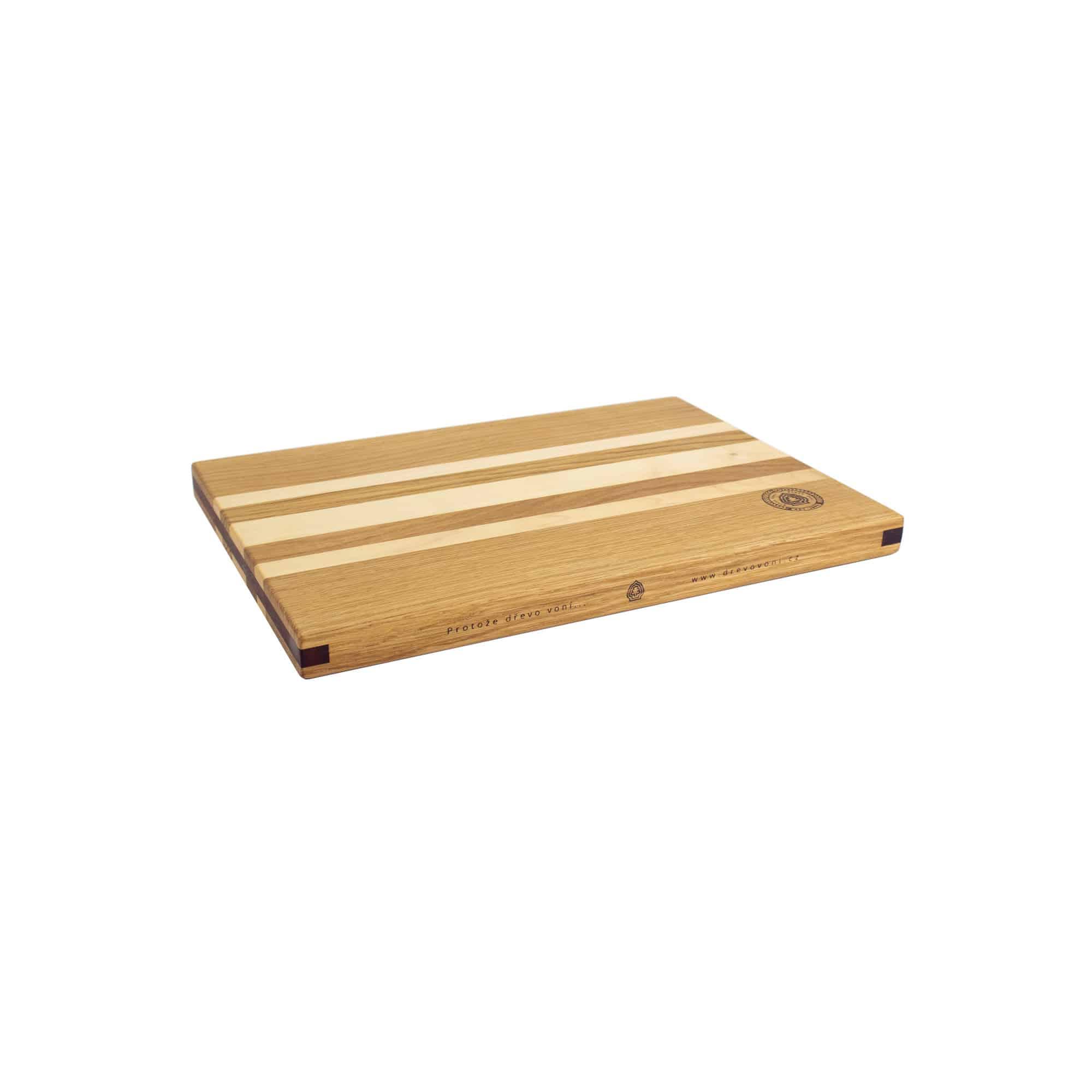 Dřevo voní kuchyňské prkénko univerzální ze dřeva