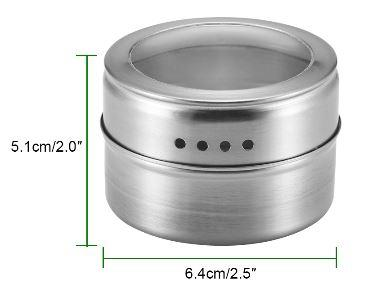 Kořenka magnetická nerezová ocel sklo